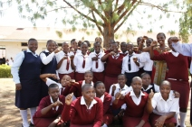 Honest+with+members+of+Girls+to+Lead+Africa+at+Kinkiizi+Girls+Highschool+In+Kanungu+District+Uganda